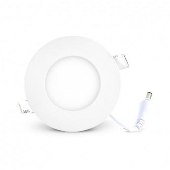 Plafonnier LED Blanc Ø85 3W 6000°K