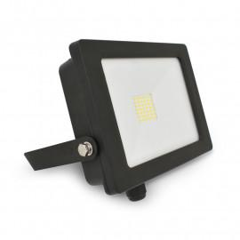 Projecteur Exterieur LED Plat Noir 30W 4000°K