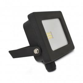 Projecteur Exterieur LED Plat Noir 10W 4000°K
