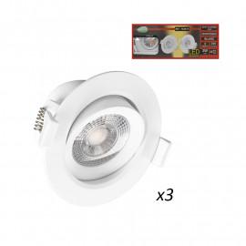 Spot LED SMD Orientable 3W 3000°K