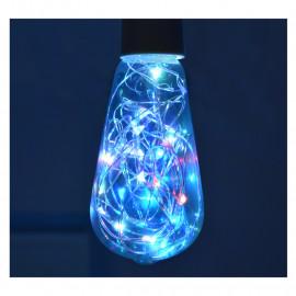 Ampoule LED E27 ST64 Filament RGB