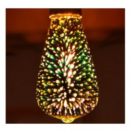 Ampoule LED E27 ST64 3D