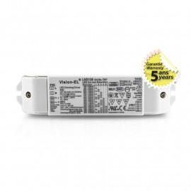 Alimentation pour LED 13-36W, 3-66VDC, Dimmable DALI / PUSH / 0-10V