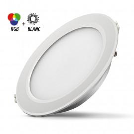 Spot LED Fixe 4 Zones avec Alimentation Electronique 13W RGB + Blanc