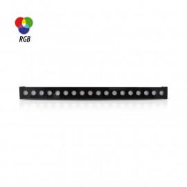 Wall Washer LED traversant - 36W - RGB - 24VDC