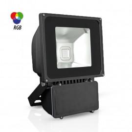 Projecteur Exterieur LED Gris 80W RGB