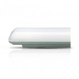 Boitier Etanche LED Intégrées Traversant 48W 3000°K IP65 1500mm