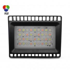 Projecteur Extérieur LED Noir 24VDC 36W - RGB - IP65