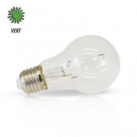 Ampoule LED E27 Filament 2W Vert