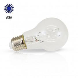 Ampoule LED E27 Filament 2W Bleue