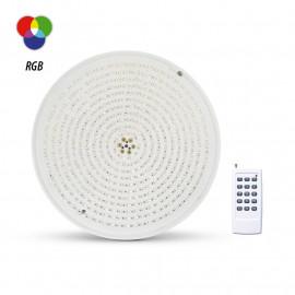 Projecteur LED Piscine PAR56 12VAC 32W RGB + Télécommande RF