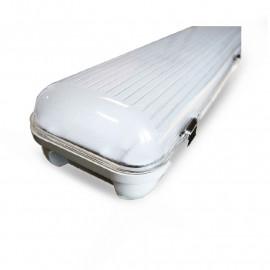 Boitier Etanche LED Intégrées 3000°K 48W 1232 x 107 x 76 mm