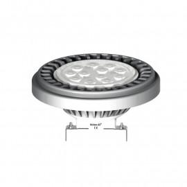 Ampoule LED G53 AR111 Gris 12W 3000°K