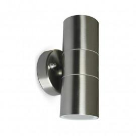 Applique Murale LED GU10 x 2 Inox 316 L