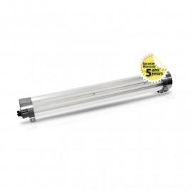 Tubulaire LED Intégrées Claire Traversant 60W 8900 LM 3000°K garantie 5 ans
