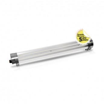 Tubulaire LED Intégrées Claire Traversant 40W 5900 LM 3000°K garantie 5 ans