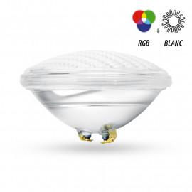 Projecteur LED Piscine PAR56 12VAC 18W RGB + Blanc