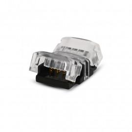 Connecteur Jonction Bandeaux LED CCT 12V / 24V 10mm pour IP20 Bandeau à Bandeau