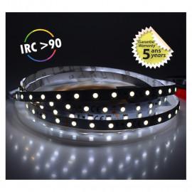Bandeau LED 6000°K 5 m 60 LED/m 62W IP20  - 24V - GARANTIE 5 ANS