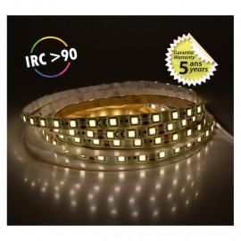 Bandeau LED 4000°K 5 m 60 LED/m 62W IP65  - 24V - GARANTIE 5 ANS