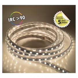 Bandeau LED 4000°K 5 m 60 LED/m 62W IP67  - 24V - GARANTIE 5 ANS