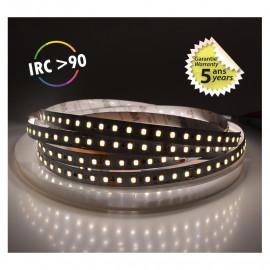 Bandeau LED 4000°K 5 m 120 LED/m 72W IP20  - 24V - GARANTIE 5 ANS