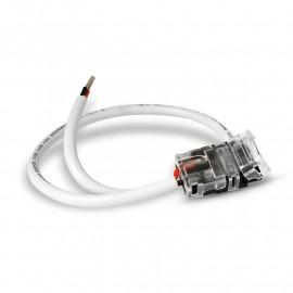 Connecteur Jonction Bandeaux LED 12V / 24V 10mm pour IP65 Bandeau à Câble