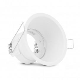 Support de spot basse luminance Rond Blanc Ø82 IP20