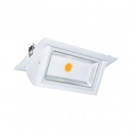 Spot LED Rectangulaire Orientable 30W 3000K
