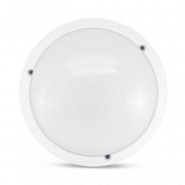 LED Hublot Ø300 E27 Blanc IP65 + Détecteur