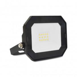 Projecteur Exterieur LED Plat Noir 10W 4000K sans câble