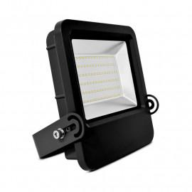 Projecteur Exterieur LED Plat Noir 80W 3000K