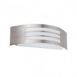 Applique Murale E27 Grille horizontale Inox 304 IP44