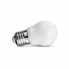 Ampoule LED E27 G45 Filament Dépoli 4W 2700K Blister