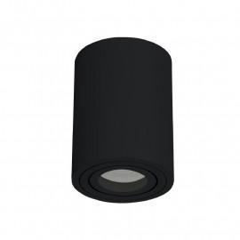 Support de Spot Saillie GU10 (sans ampoule) Cylindre Noir