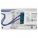Boitier étanche LED Intégrées + Détecteur 1500mm 31--64W 4000K IP65
