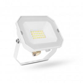 Projecteur Extérieur LED Plat Blanc 20W 4000K sans câble
