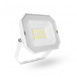 Projecteur Exterieur LED Plat Blanc 30W 4000K sans câble