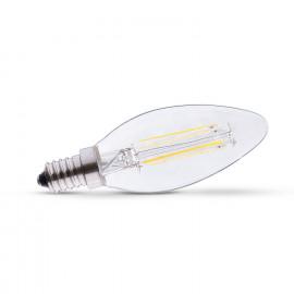 Ampoule LED E14 Filament Flamme 4W 6000°K
