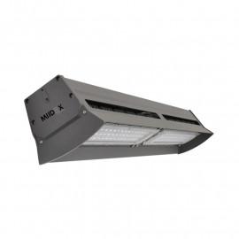 Lampe industrielle LED Intégrées gris anthracite 200W 24200 LM 4000°K