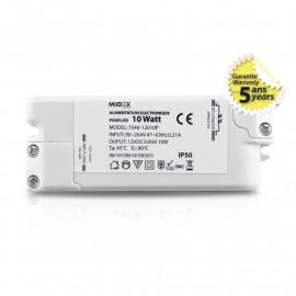 Alimentation pour LED 10W 12V DC
