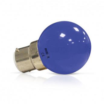 Ampoule LED B22 Bulb 1W Bleu
