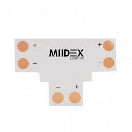 Connecteur T Bandeaux LED 12V / 24V 10mm à souder