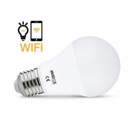 Ampoule LED E27 Connecté WIFI 9W 4000°K + Dimmable