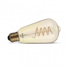 Ampoule LED E27 ST64 Filament 4W 2700K