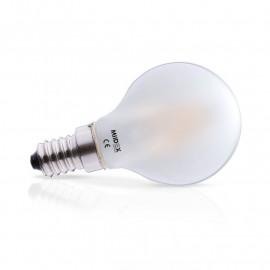 Ampoule LED E14 Filament Bulb Dépoli 2W 2700K