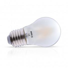 Ampoule LED E27 G45 Filament Dépolie 4W 2700K