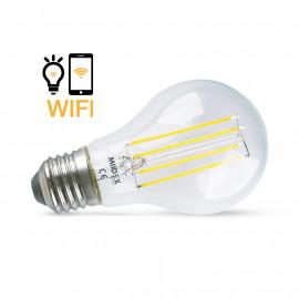 Ampoule LED E27 Connectée WIFI 7W 4000K + Dimmable