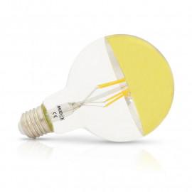 Ampoule LED E27 G95 Filament Doré 6W 2700K