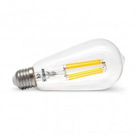 Ampoule LED E27 ST64 Filament 8W 2700K Dimmable